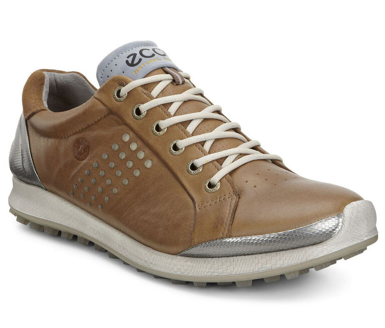 ECCO BIOM Hybrid 2 Men's Golf Shoe - Tan