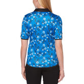 Alternate View 2 of PGA TOUR Black and Blues Collection: Floral Print Half Sleeve Shirt