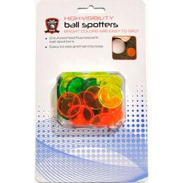 High Visibility Ball Markers - 24 Pack