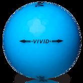 Volvik VIVID Golf Balls - Blue