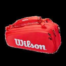 Super Tour 2021 Red 6 PK Tennis Bag