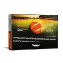 Velocity Orange Golf Balls