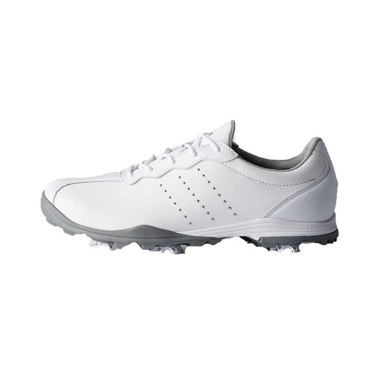 adidas adiPure DC Women's Golf Shoe - White/Silver