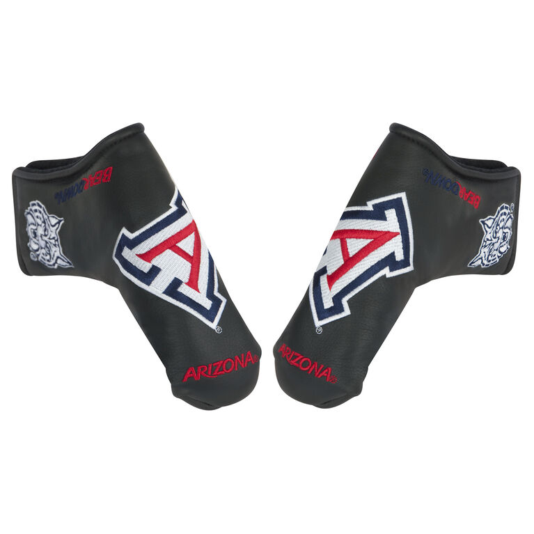Team Effort Arizona Black Putter Cover