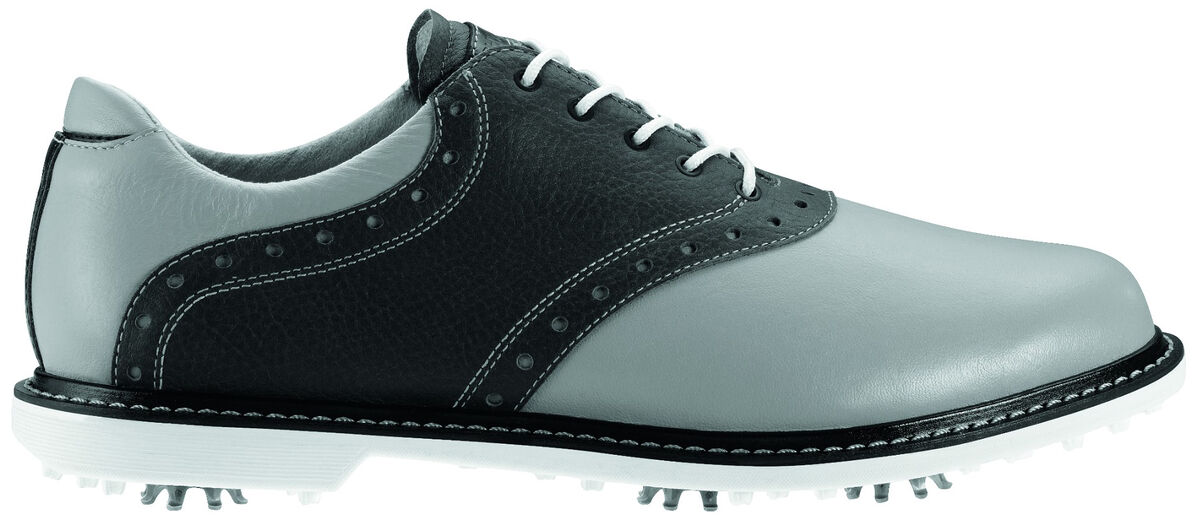 8bcd26162259b The Ashworth Kingston Men s Golf Shoe is a classic saddle design ...
