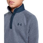 Alternate View 3 of UA Storm SweaterFleece ½ Snap Boys' Golf Long Sleeve Pullover