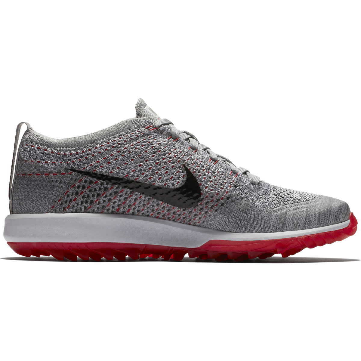 3c55d4328f06 Images. Nike Flyknit Racer G Men  39 s Golf Shoe - White Grey