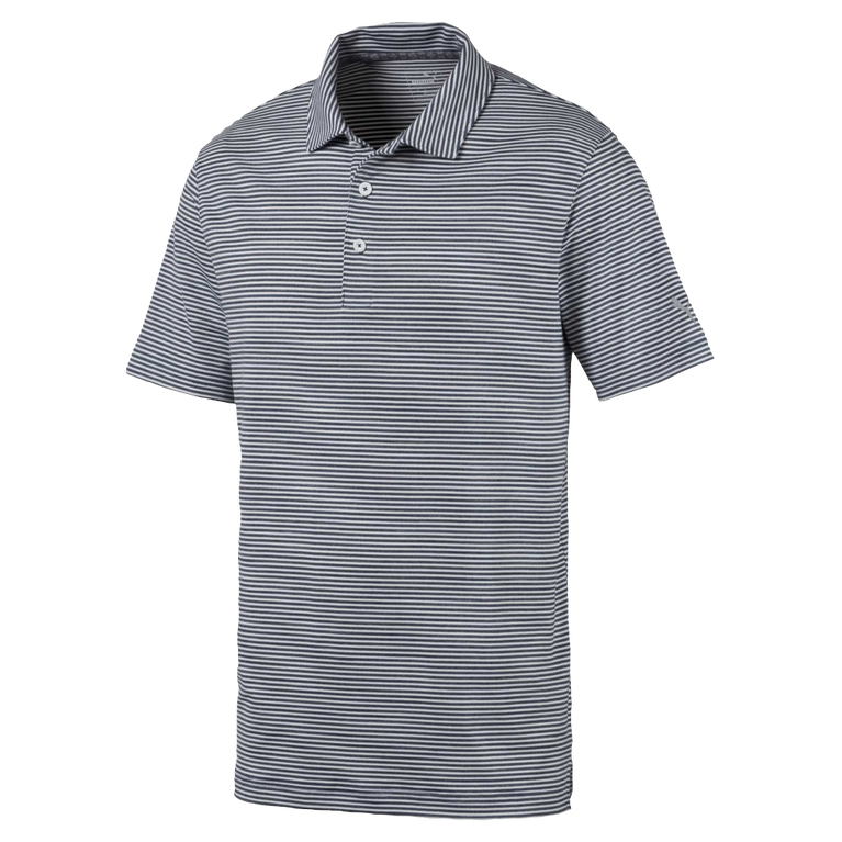Caddie Stripe Golf Polo