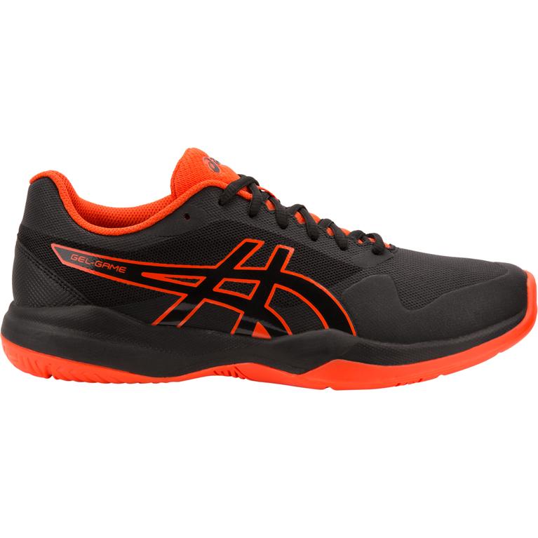 GEL-Game 7 Men's Tennis Shoe - Black/Orange