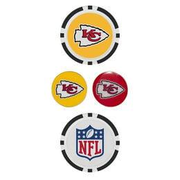 Team Effort Kansas City Chiefs Ball Marker Set