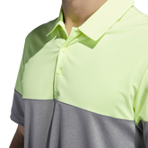 Alternate View 5 of Ultimate365 Heathered Blocked Polo Shirt