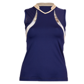 Alternate View 2 of Alllure Collection: Sleeveless Tennis Tank Top