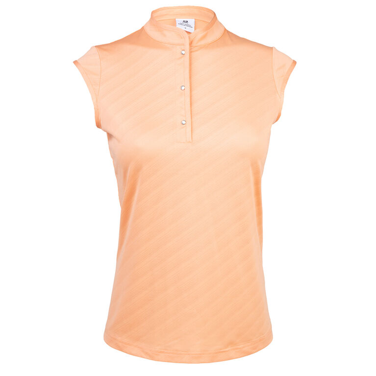 Coral Group: Lorin Blossom Sleeveless Polo