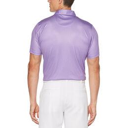 Golf Club Print Short Sleeve Golf Polo Shirt