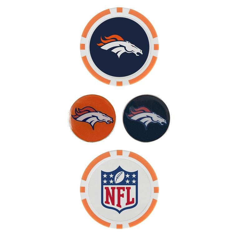Team Effort Denver Broncos Ball Marker Set