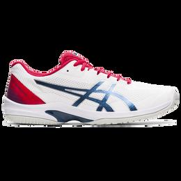 Court Speed FF Men's Tennis Shoe - White/Blue