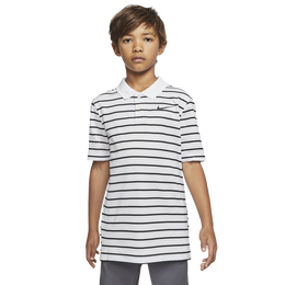 Dri-FIT Victory Boys Striped Golf Polo