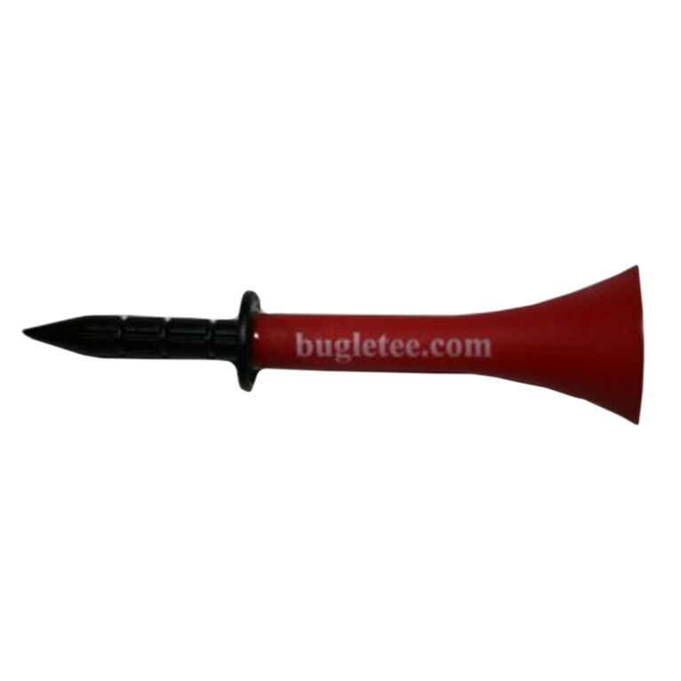 Bugle Tee Pack 3 1/4 Inch - Red