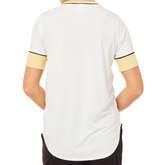 Alternate View 3 of Biltmore Collection: Piped Rib Trim Short Sleeve Top