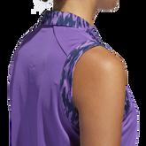 Alternate View 7 of Ultimate365 Printed Sleeveless Polo Shirt