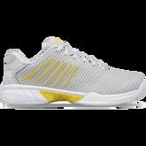Hypercourt Express 2 Women's Tennis Shoe - Grey/Yellow