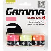 Gamma Neon Tac Overgrip - 3 Pack