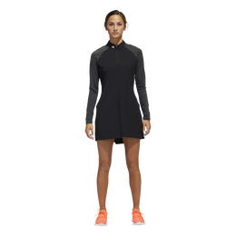 Long Sleeve Solid Golf Dress