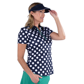 Alternate View 6 of Appletini Collection: Short Sleeve Polka Dot Polo