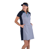 Alternate View 5 of Appletini Collection: Short Sleeve Striped Dress