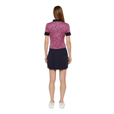 Alternate View 5 of Lexie Short Sleeve Coolmax Leopard Print Polo