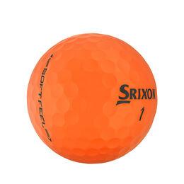 Soft Feel 11 Brite Orange Golf Balls
