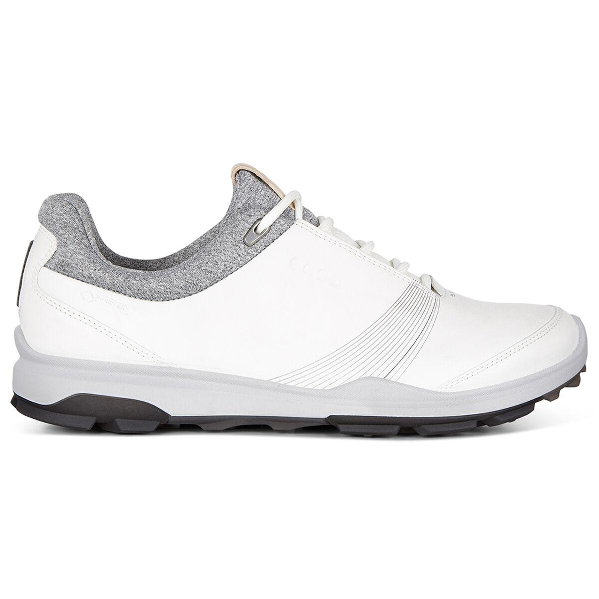 bc4629576e ECCO BIOM Hybrid 3 GTX Women's Golf Shoe - White/Black | PGA TOUR ...