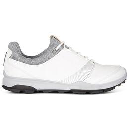 ECCO BIOM Hybrid 3 GTX Women's Golf Shoe - White/Black