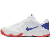 Alternate View 2 of NikeCourt Lite 2 Men's Hard Court Tennis Shoe - White/Royal