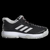 Adizero Club Kids Tennis Shoe - Black/White
