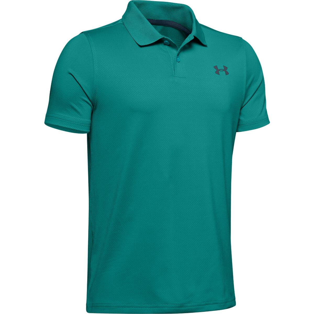 7b48569d Performance Textured Boys' Golf Polo Shirt