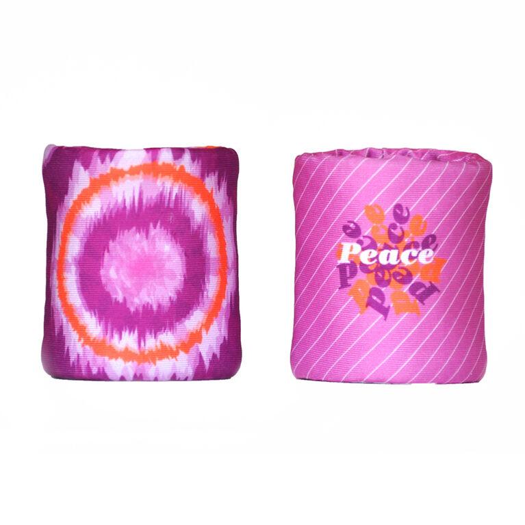 Wristpect Sport World Peace Double Wristbands
