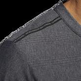 Mesh Stripe Long Sleeve Henley