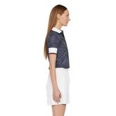 Alternate View 3 of Lexie Short Sleeve Dot Polo Shirt