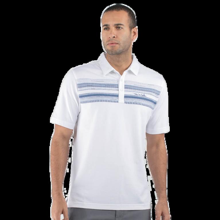 TravisMathew Nino Chest Stripe Polo