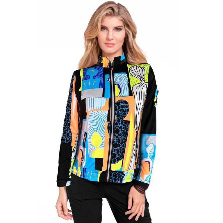 Casa Collection: Happy People Full Zip Jacket