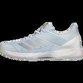 Alternate View 4 of Adizero Ubersonic 3 Women's Tennis Shoe - Light Blue/White