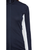Alternate View 2 of Navy Group: Imaan Long Sleeve Full Zip TX Midlayer