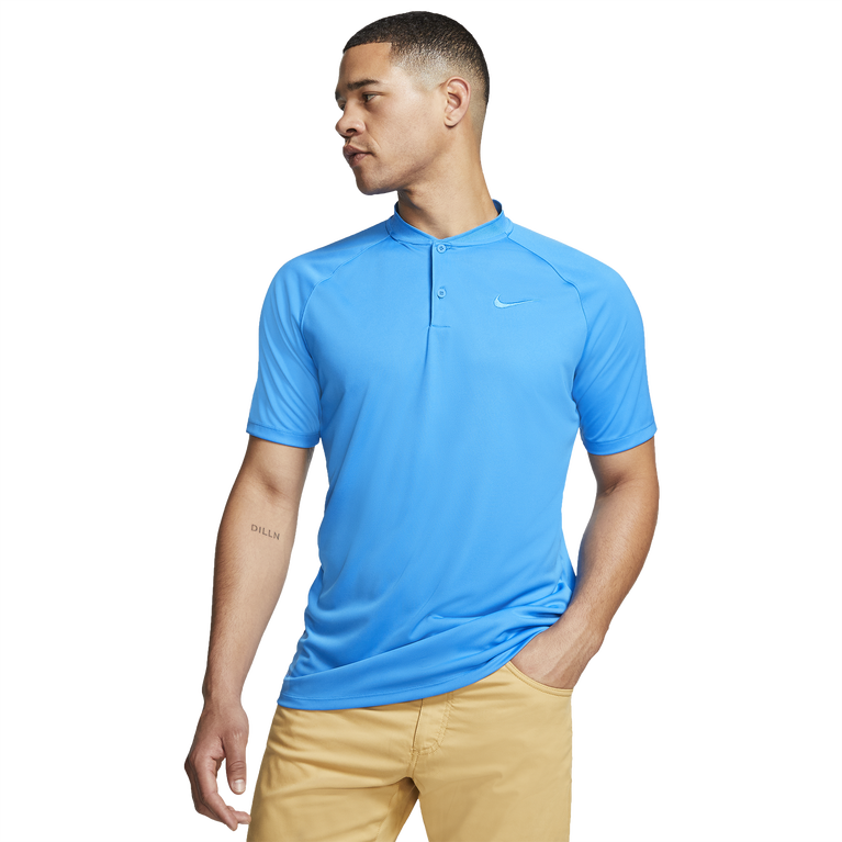 Dry Momentum Blade Collar Golf Polo