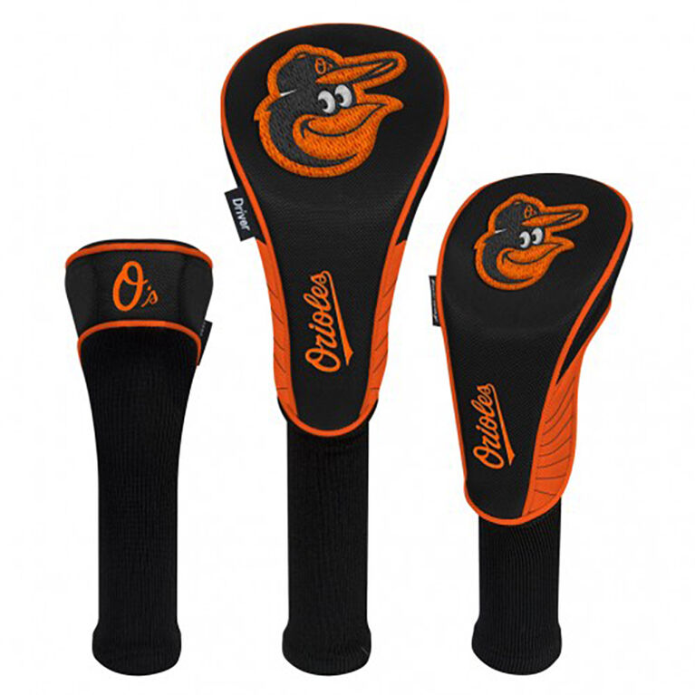 Baltimore Orioles Set of 3 Headcovers
