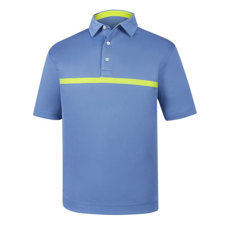 Engineered Nailhead Jacquard Self Collar Polo
