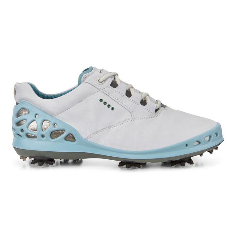ECCO Cage GTX Women's Golf Shoe - White/Blue