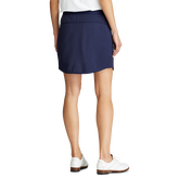 Alternate View 2 of Perforated Stretch Solid Golf Skort
