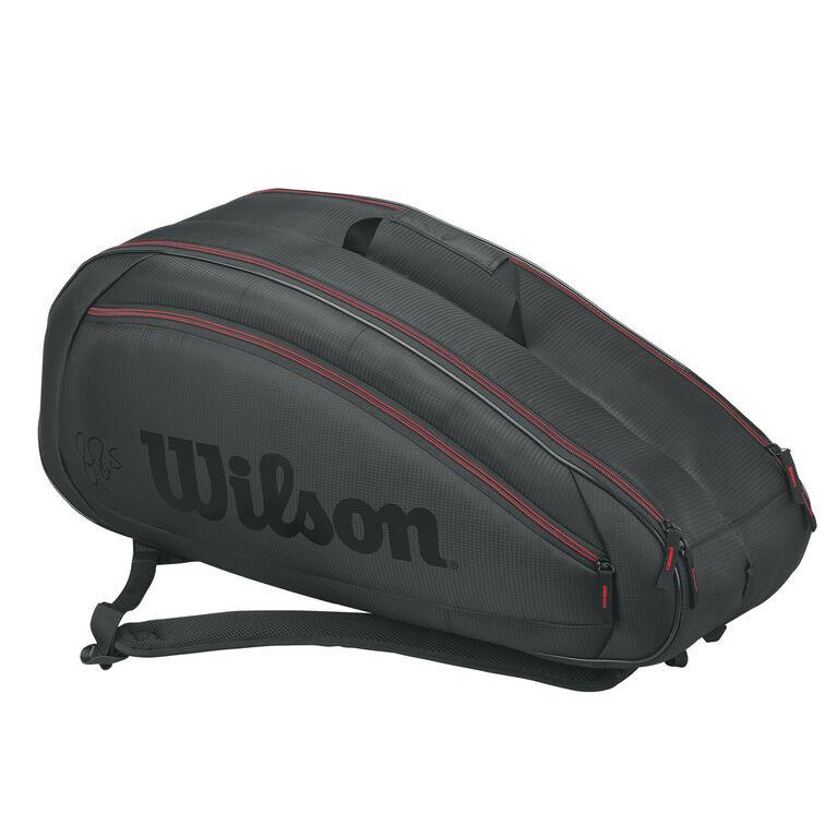Wilson Federer Team 6 Pack Bag - Grey/Red