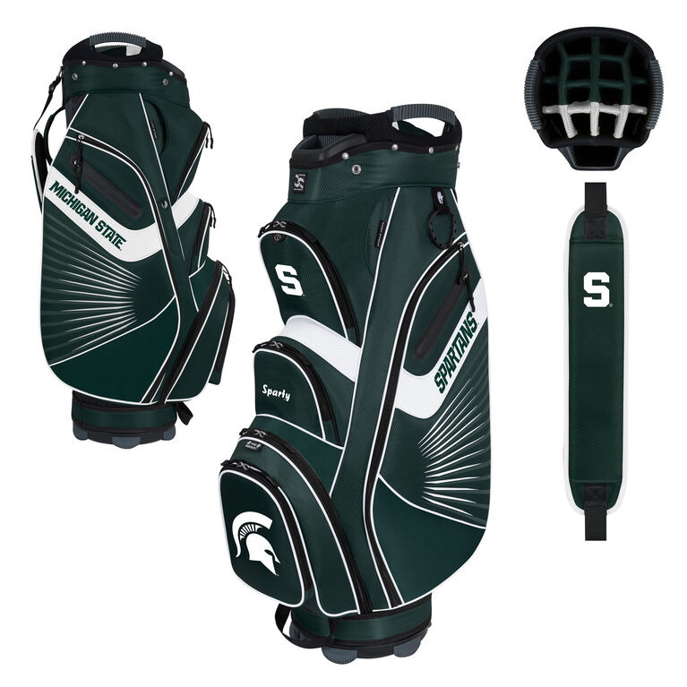 Team Effort Michigan State Bucket II Cart Bag